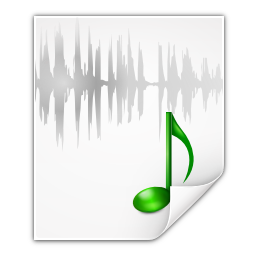 Mimetypes-audio-x-wav-icon (GNU Lesser)