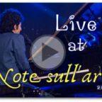"Nuovo video : Live at ""Note sull'arte 2017"""