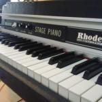 Rhodes Mk II : un leggendario strumento vintage nel mio studio!!!
