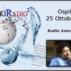 "Ospite a ""WikiRadio²"" - ""Radio Antenna Febea"" (25/10/16)"